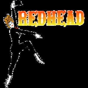 Redhead (musical) - Logo