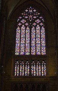 Richter window Cologne Cathedral