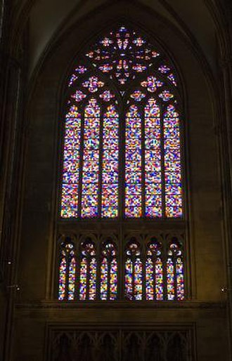 Gerhard Richter - Image: Richter window Cologne Cathedral