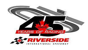 Riverside International Speedway - Image: Riverside 45th Logo