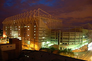 Photograph of St James Park Stadium, Newcastle