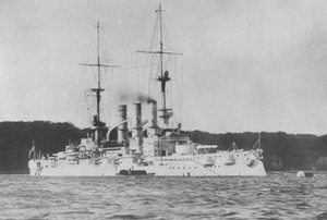 SMS Pommern - Pommern before the outbreak of war