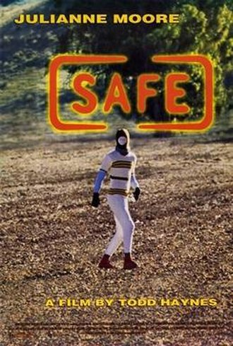Safe (1995 film) - Theatrical release poster