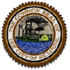Official seal of City of St. Louis