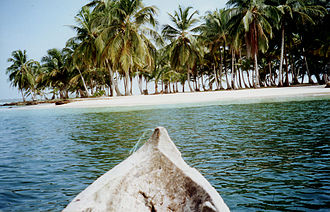 "San Blas Islands - Cayuko ""dug-out canoe"""