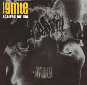 Scarred for Life (Ignite album) - Image: Scarred for Life Ignite album cover