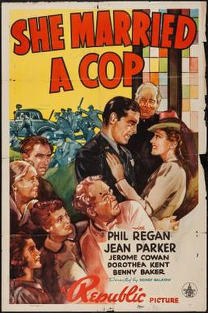 She Married a Cop - Theatrical release poster
