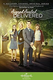 <i>Signed, Sealed, Delivered</i> (TV series) American-Canadian drama/romantic comedy television series