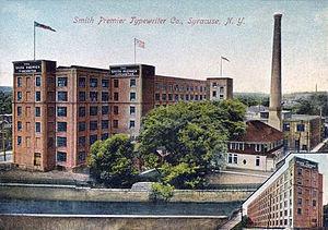 Smith Corona - Smith Premier Typewriter Co. at Syracuse, New York in c. 1908