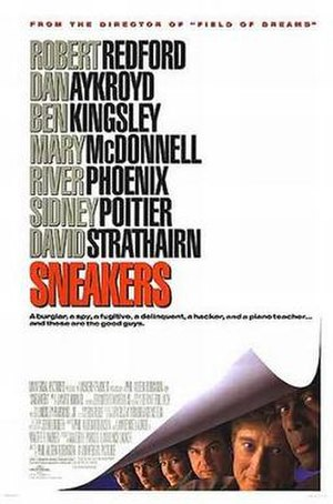 Sneakers (1992 film) - Theatrical release poster