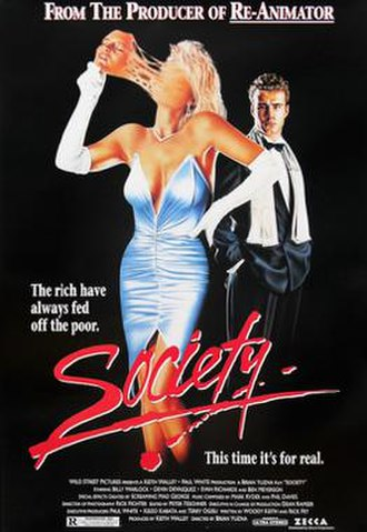 Society (film) - Theatrical poster