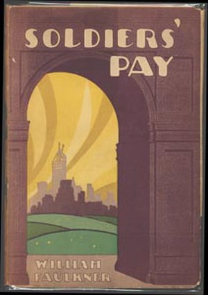 Soldiers' Pay - First edition cover