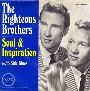 (You're My) Soul and Inspiration - Image: Soul and inspiration Righteous Brothers