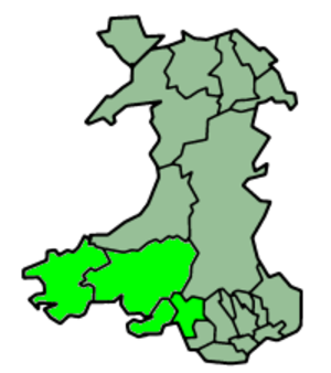 South West Wales - A definition of South West Wales used by various public and private sector organisations