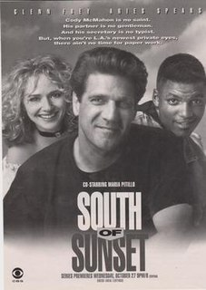 <i>South of Sunset</i> Television series