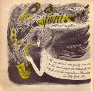 <i>Spirits</i> (Albert Ayler album) 1966 studio album by Albert Ayler