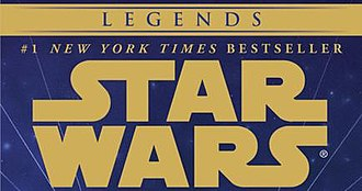Star Wars expanded to other media - The Legends label is featured on reprints of Expanded Universe works that fall outside of the Star Wars franchise canon.