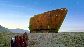 Sandcrawler type of vehicle in the Star Wars Expanded Universe