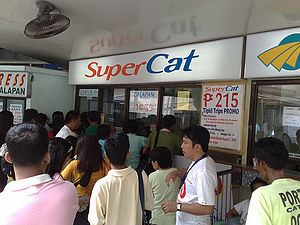 Supercat Fast Ferry Corporation - A Supercat Ticket Booth in Batangas Port