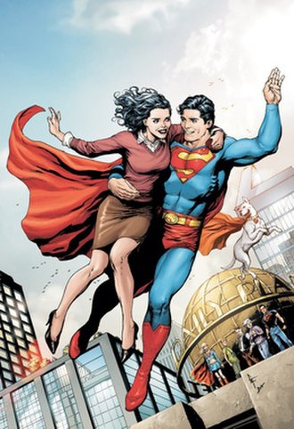 Superman and Lois Lane - Art by Gary Frank
