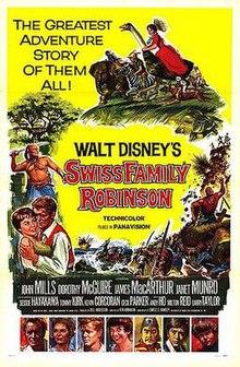Swiss Family Robinson movie