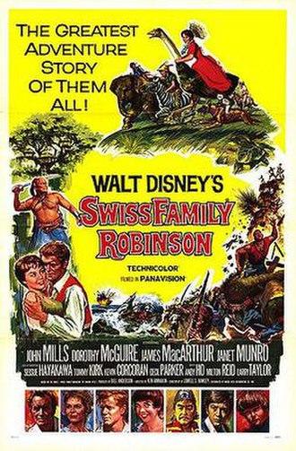 Swiss Family Robinson (1960 film) - Original theatrical poster