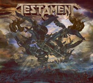 <i>The Formation of Damnation</i> 2008 studio album by Testament