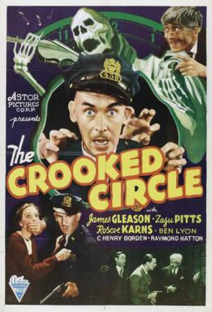 The Crooked Circle (1932 film) - Film poster