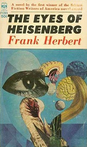 The Eyes of Heisenberg - Cover of first edition (paperback)