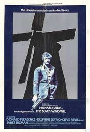 The Black Windmill - original film poster