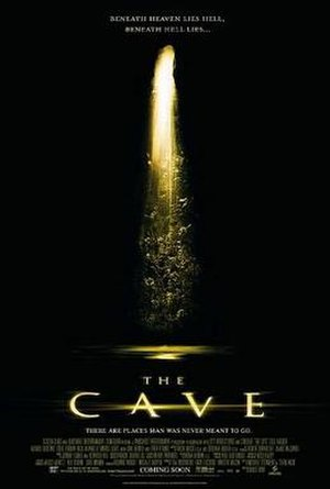 The Cave (film) - Theatrical release poster