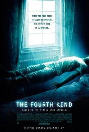 The Fourth Kind - Theatrical release poster