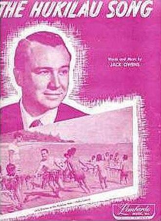 Jack Owens (singer-songwriter) - Image: The Hukilau Song