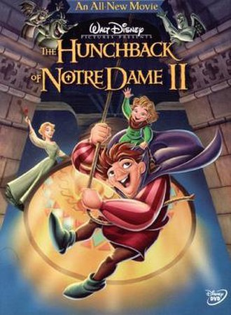 The Hunchback of Notre Dame II - DVD cover