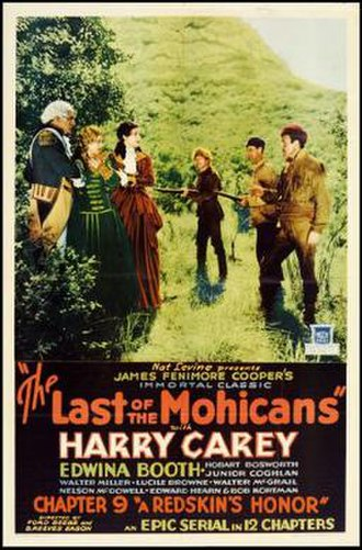 The Last of the Mohicans (1932 serial) - Image: The Last of the Mohicans Film Poster