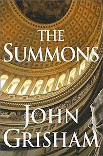 <i>The Summons</i> novel by John Grisham