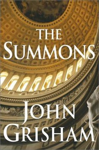 The Summons - Image: The Summons by John Grisham cover