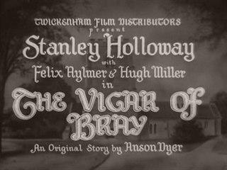 <i>The Vicar of Bray</i> (film) 1937 film by Henry Edwards
