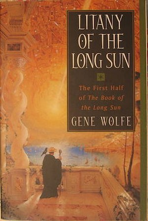 The Book of the Long Sun - Front cover of the first half or first two books in one volume (Orb Books, 2000)