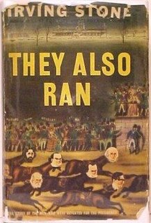 <i>They Also Ran</i> book by Irving Stone