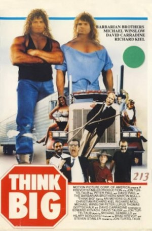 Think Big (film) - Image: Think big 1990