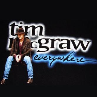 Everywhere (Tim McGraw song) - Image: Tim Mc Graw Everywhere single cover