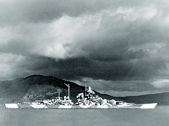 Tromsø - The German battleship Tirpitz was bombed and sunk off Tromsø island in 1944.