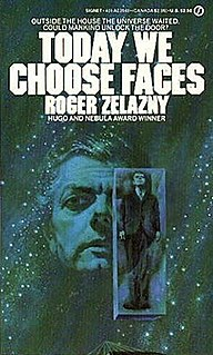 <i>Today We Choose Faces</i> book by Roger Zelazny