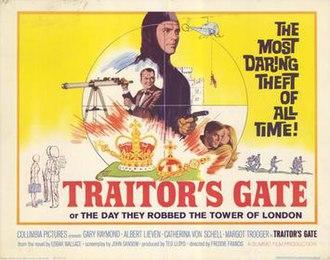 Traitor's Gate (film) - Original British film poster