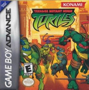 Teenage Mutant Ninja Turtles (Game Boy Advance) - North American cover art