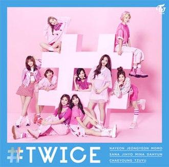 Twice (album) - Image: Twice Standard edition (album cover)