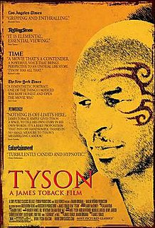 <i>Tyson</i> (2008 film) 2008 film by James Toback