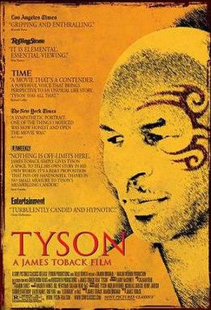 Tyson (2008 film) - Promotional film poster