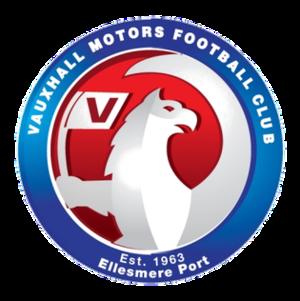 Vauxhall Motors F.C. - Image: Vauxhall Motors F.C. logo